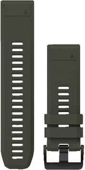 Garmin QuickFit 26 Silikonarmband moosgrün (010-12517-03)