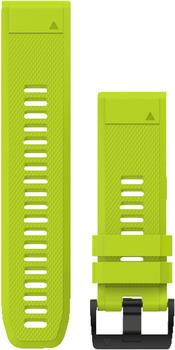 Garmin QuickFit 26 Silikonarmband gelb (010-12517-01)