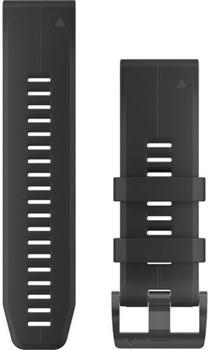 Garmin QuickFit 26 Silikonarmband schwarz (010-12741-00)