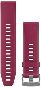 Garmin QuickFit 20 Silikonarmband cerise (010-12739-05)