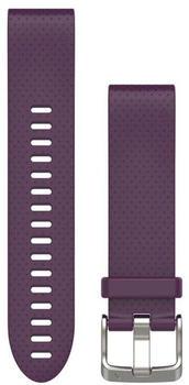 Garmin QuickFit 20 Silikonarmband lila (010-12491-15)