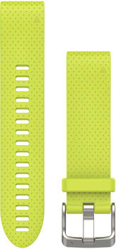 Garmin QuickFit 20 Silikonarmband gelb (010-12491-13)