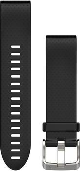 Garmin QuickFit 20 Silikonarmband schwarz (010-12491-12)