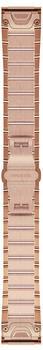Garmin QuickFit 20 Edelstahlband roségold (010-12739-02)