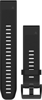 Garmin QuickFit 22 Watch Strap Silicone black (010-12496-00)