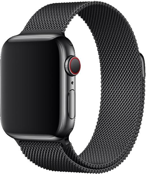 Apple Watch 40 mm Milanaise-Ersatzband schwarz