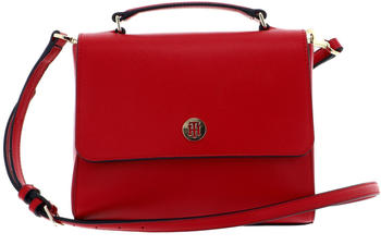 Tommy Hilfiger Honey Flap Satchel (AW0AW07944) barbados cherry