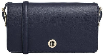 Tommy Hilfiger Monogram Plaque Flap Crossover (AW0AW07943) sky captain