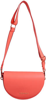 Tommy Hilfiger Staple Saddle Bag (AW0AW08226) island coral