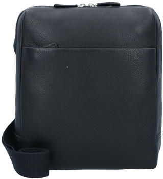 Leonhard Heyden Berlin Zipped Messenger Bag black