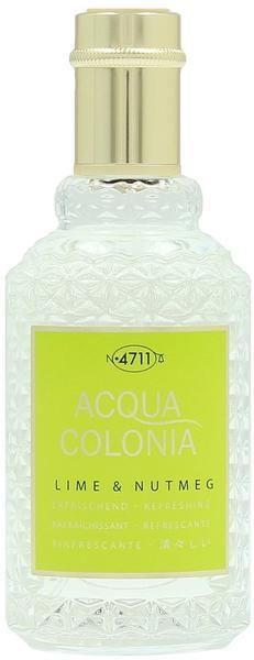 4711 Acqua Colonia Lime & Nutmeg Eau de Cologne (50 ml)