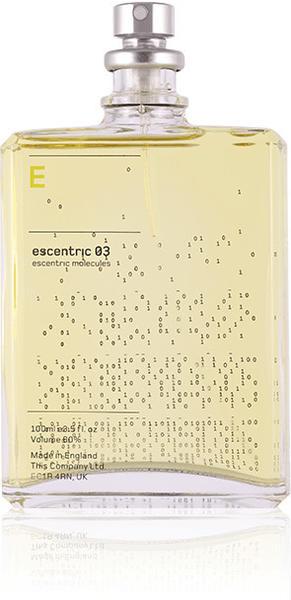 Escentric Molecules Escentric 03 Eau de Toilette (30ml)