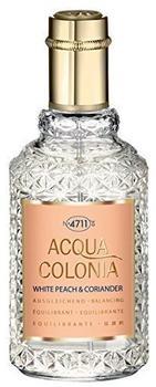4711 Acqua Colonia White Peach & Coriander Eau de Cologne (50ml)