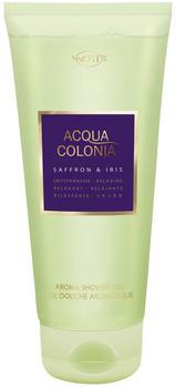 4711 Acqua Colonia Saffron & Iris Duschgel 200 ml