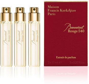 Maison Francis Kurkdjian Paris Baccarat Rouge 540 Extrait de Parfum (3 x 11ml)