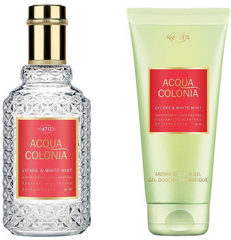 4711 Acqua Colonia Lychee & White Mint Eau de Parfum 50 ml + Shower Gel 75 ml Geschenkset