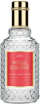 4711 Acqua Colonia Lychee & White Mint Eau de Cologne (50ml)