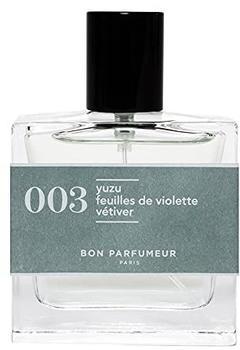 Bon Parfumeur 003 Yuzu Feuilles de Violette Vétiver Eau de Parfum (30ml)