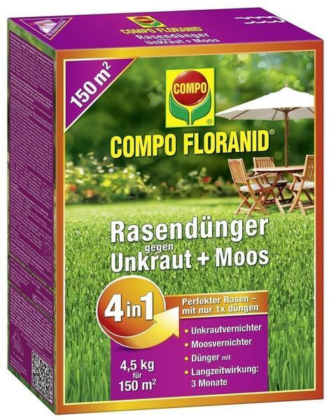 Compo Floranid gegen Unkraut+Moos 4in1 4,5 kg