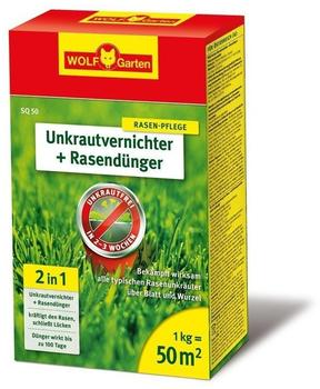 Wolf-Garten Unkrautvernichter & Dünger SQ 50