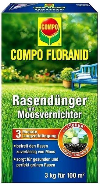 Compo MV Rasen Floranid mit Moosvernichter 3 kg