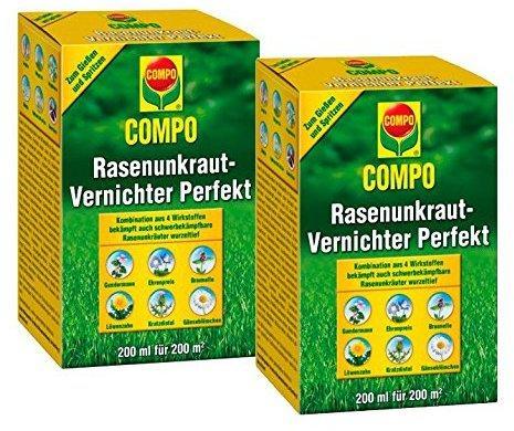 Compo Rasenunkrautvernichter Perfekt 400 ml