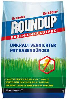 Roundup Rasen-Unkrautfrei mit Rasendünger 9kg für 450 m²