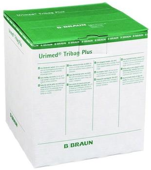 B. Braun Urimed Tribag Plus Urin Beinbtl.500 ml 80 cm Unst. (10 Stk.)