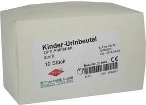 Büttner-Frank Urin AuffangBeutel Kind 201449 (10 Stk.)
