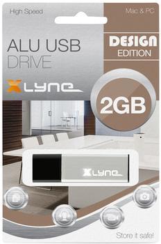 xlyne ALU USB 2.0 2GB