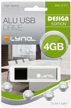 xlyne ALU USB 2.0 4GB