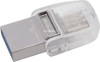Kingston DataTraveler microDuo 3C 64GB USB 3.1