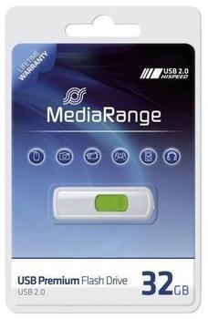mediarange-usb-20-slider-green