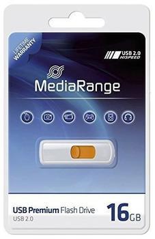mediarange-usb-20-slider-yellow