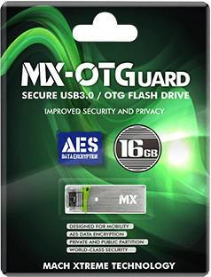 Mach Xtreme Technology OTGuard USB 3.0 Pen Drive, 256-AES - 64 GB
