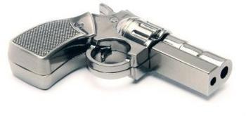 Aricona USB Stick als Pistole (Metall), Größe:16 GB