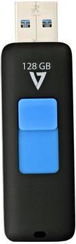 V7 Slider USB 3.0 128GB (VF3128GAR-BLK-3x)