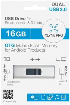 xlyne Pro OTG Dual Key 16GB