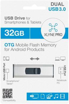 xlyne Pro OTG Dual Key 32GB