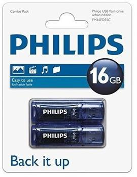 Philips Urban Edition 16GB 2-Pack