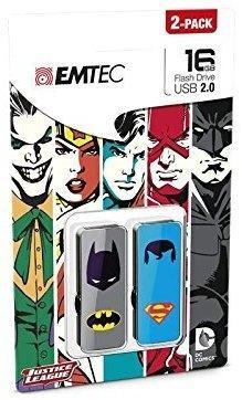 Emtec M700 16GB Batman vs Superman 2er-Pack
