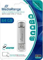 MediaRange USB 3.0 Kombo Typ-C 64GB