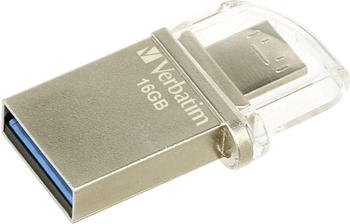 Verbatim Store n Go Micro 16GB silber USB 3.0