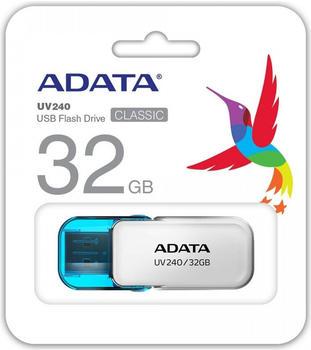 A-Data ADATA UV240 32GB USB2.0 White (AUV240-32G-RWH)