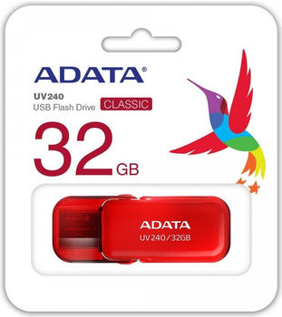 A-Data ADATA UV240 32GB 2.0 USB-Anschluss Typ A Rot