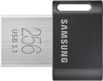 samsung-fit-plus-muf-256ab-256gb-31-31-gen-1-usb-anschluss-typ-a-schwarz-edelstahl-usb-stick