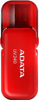 A-Data ADATA UV240 16GB Red Flash-Speicher unsortiert (AUV240-16G-RRD)