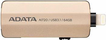 A-Data ADATA i-Memory AI720 - USB-Flash-Laufwerk - 64 GB AAI720-64G-CGD