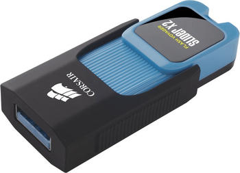 Corsair Flash Voyager Slider X2 256 GB, USB-Stick, schwarz/blau, USB 3.0