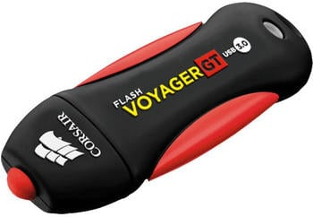 Corsair Flash Voyager GT 256 GB, USB-Stick, schwarz/rot, USB 3.0